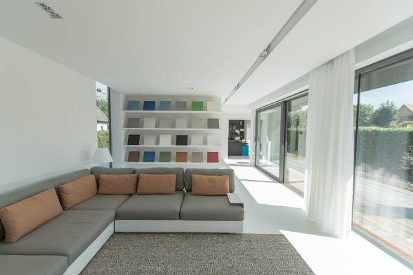 Moderne gezinswoning & showroom